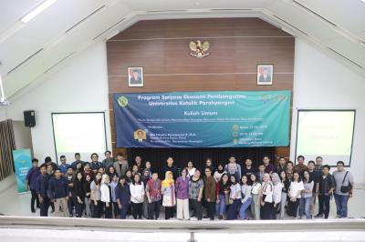 Kuliah Tamu - Peran Pemerintah dalam Meminimalkan Kerugian Ekonomi Akibat Perubahan Iklim di Indonesia