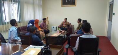 Pererat Ukhuwah Dekan Baru FEBI IAIN Kendari Sambangi Kantor Perwakilan BI Sultra