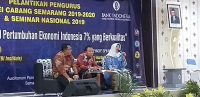 Pelantikan Pengurus ISEI Cabang Semarang 2019-2022 dan Seminar Nasional 2019