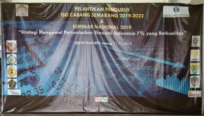 Gladi Bersih Pelantikan Pengurus ISEI Cabang Semarang 2019-2022 dan Seminar Nasional 2019