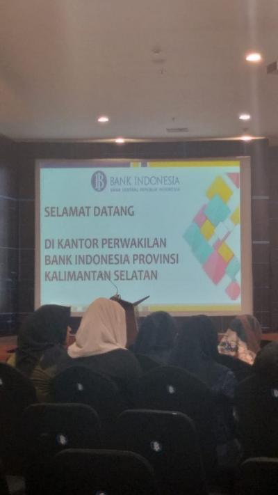 Kuliah Umum Kebanksentralan di BI KPW Kalimantan Selatan