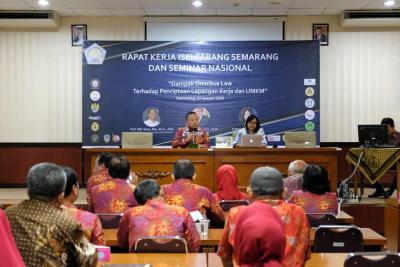 Rapat Kerja ISEI Semarang dan Seminar Nasional