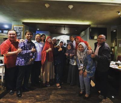 Silaturahmi ISEI Semarang dan BI dalam rangka alih tugas Bu Andi Reina Serry dari BI Semarang  ke  BI Jakarta