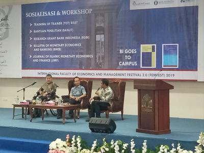 Sosialisasi dan Workshop di Universitas Darussalam Gontor, Ponorogo